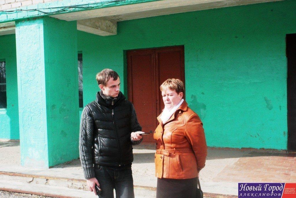 Начальник управления образования Александровского района Ирина Сергеева