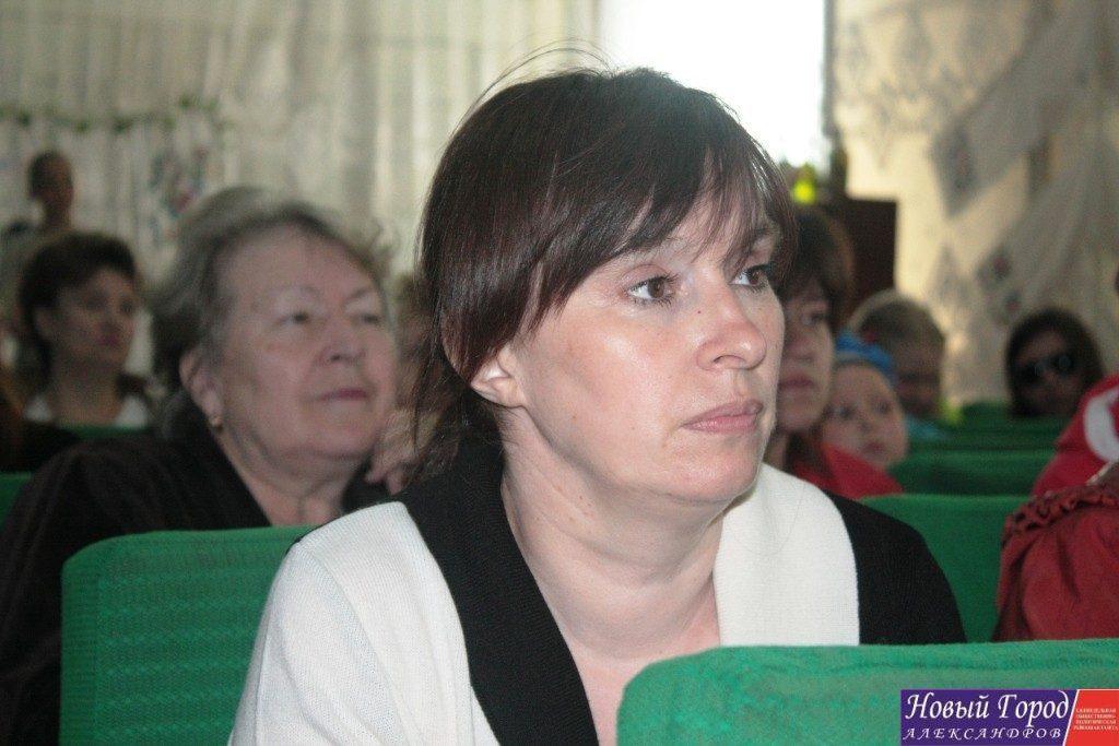 Ирина Дубова, директор Андреевского дома культуры