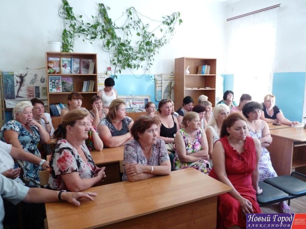 Родители учеников школы в Бакшеево