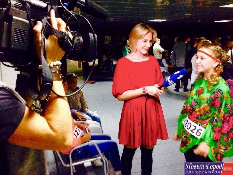 Алина Изотова на Первом канале