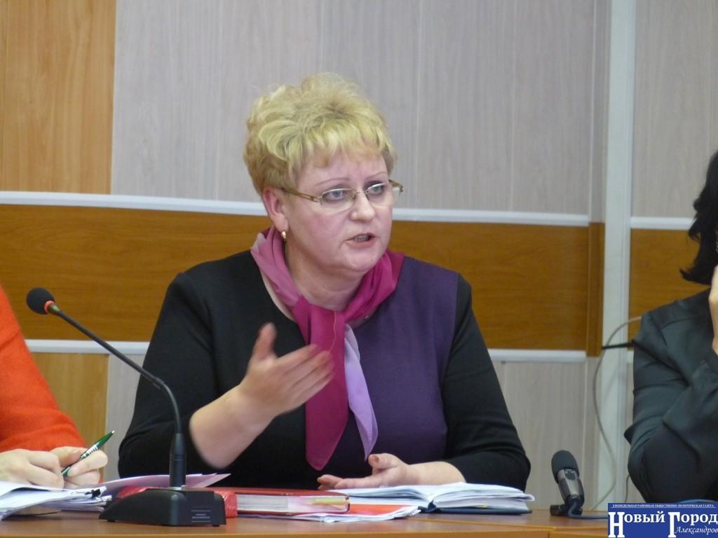 Глава города Карабаново Наталья Помехина