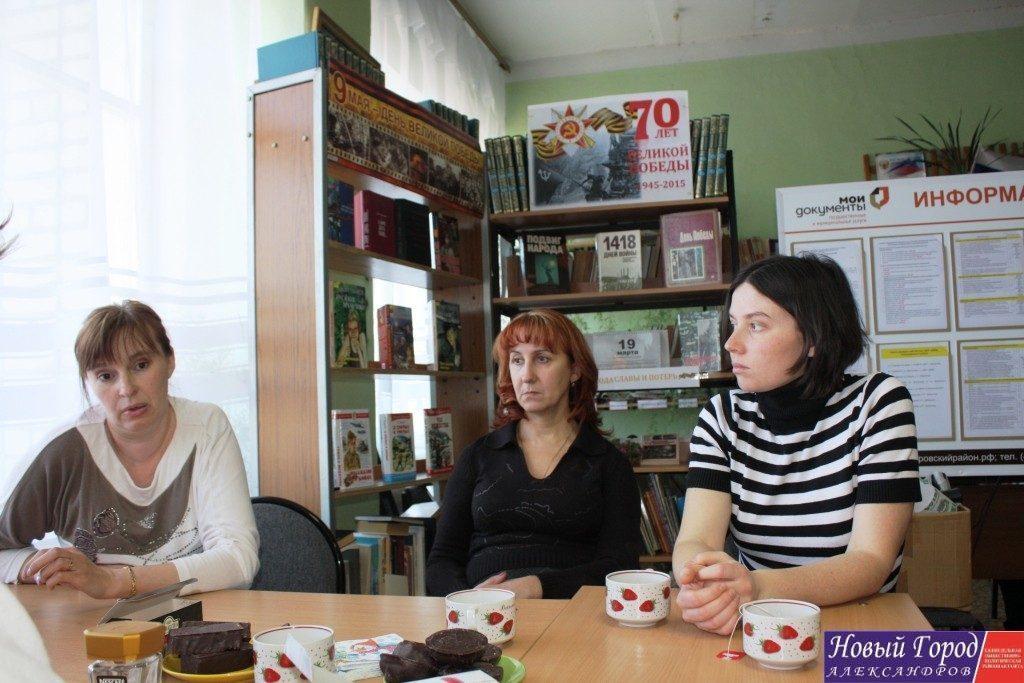 Сотрудники ДК в Андреевском