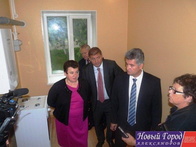 Светлана Орлова осмотрела новые квартиры