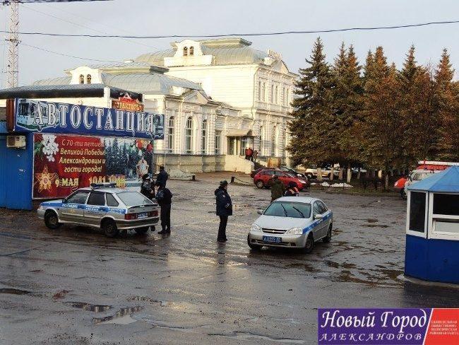 В Александрове «заминировали» железнодорожный вокзал
