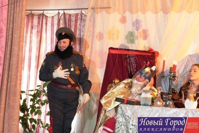 Спектакль в деревне Обашево