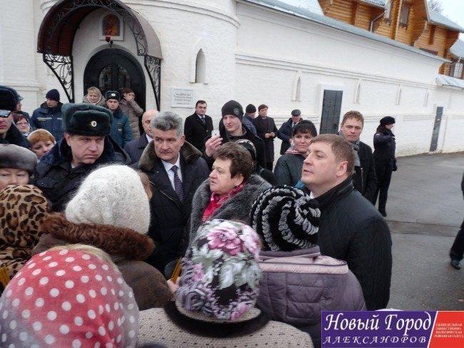 Светлана Орлова встретилась с жителями