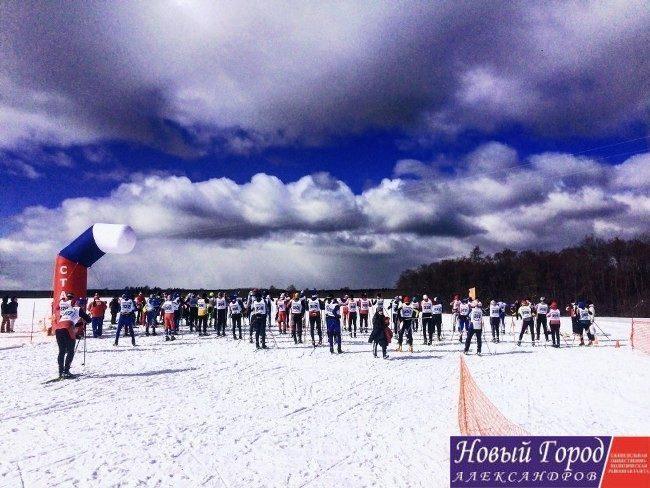 В Балакирево состоялось закрытие лыжного сезона