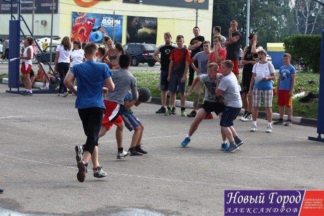 День молодежи в Александрове