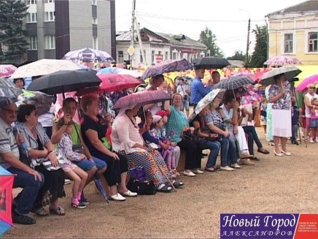 В Александрове прошёл «День старост»