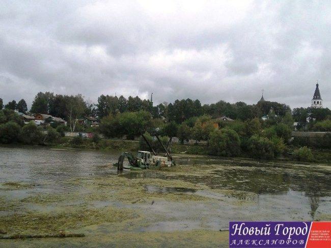 Очистка реки Серая