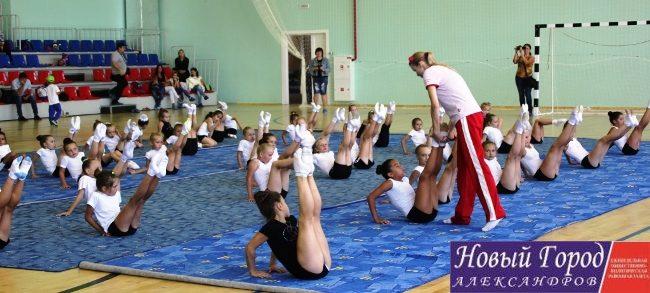 В Александрове чемпионка мира и Европы провела мастер-класс