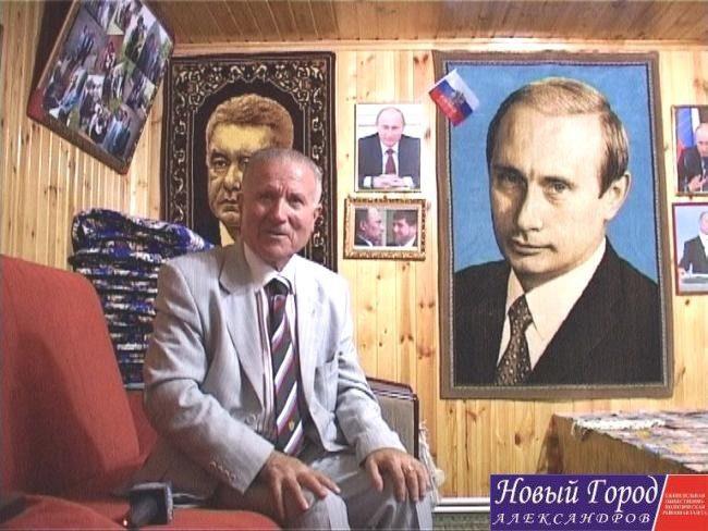 Рахмон Джураев - дедушка мальчика по имени Путин