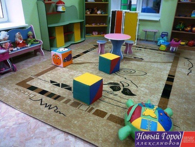 Игровые комнаты в новом детском саду