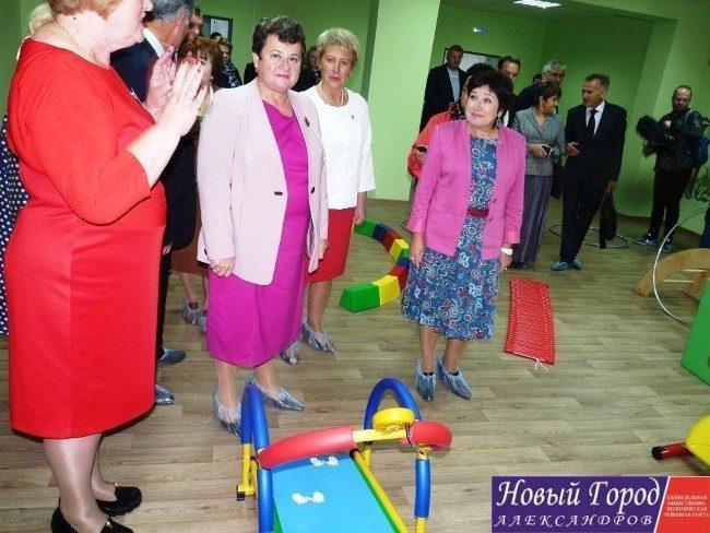Экскурсия по детскому саду для губернатора