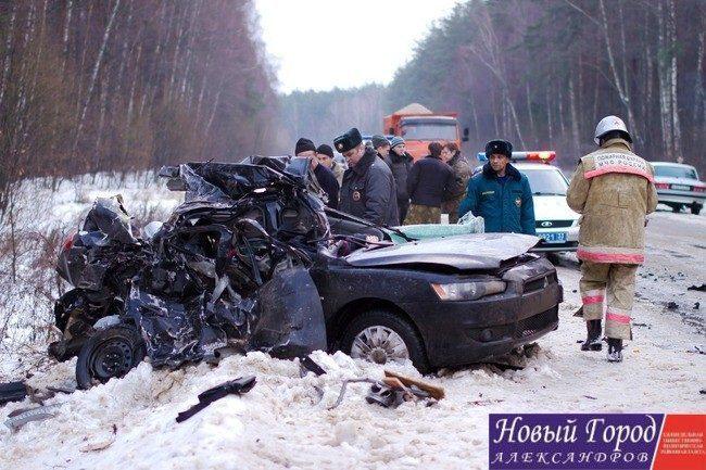 Дорога «Кольчугино-Александров» признана опасной