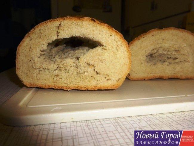 В Александрове продавали хлеб с микроорганизмами