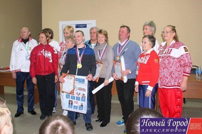 «Олимпийские легенды» посетили город Александров