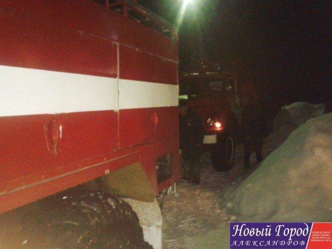 Пожар в Арсаках