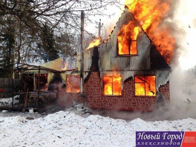 """Пожар в СНТ """"Лесное"""""""
