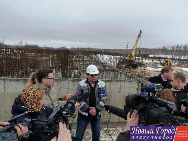 Строительство очистных сооружений канализации города Камешково