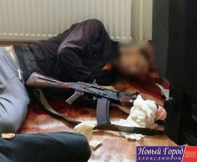 Террористы в Александровском районе