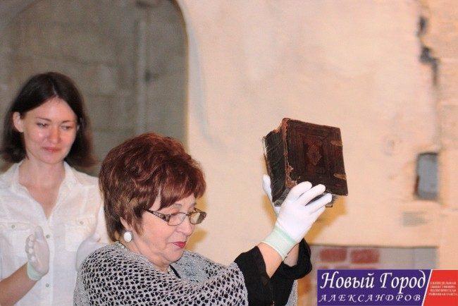 Директор музея-заповедника Алла Петурхно особо гордится приобретением