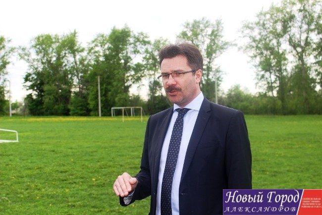 Глава города Суздаля Сергей Сахаров