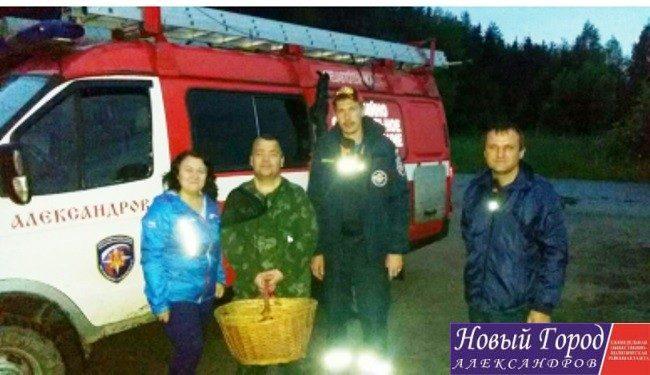 Житель Москвы потерялся в Александровских лесах