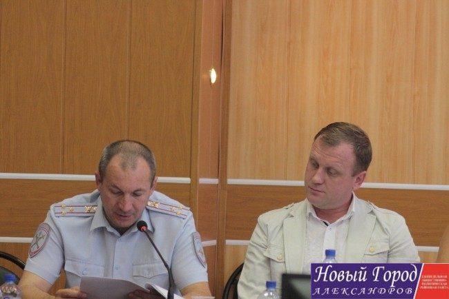 Отчёт начальника полиции особо заинтересовал некоторых депутатов