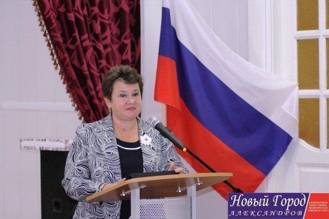 Светлана Орлова на встрече с бизнесменами