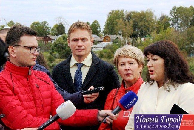 Пресс-тур для областных журналистов в Александрове