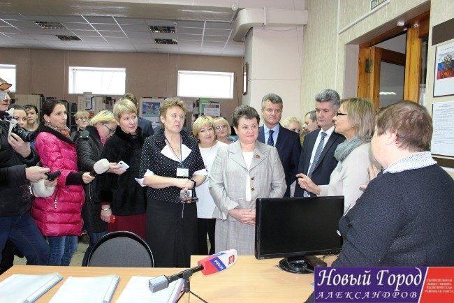 Светлана Орлова в библиотеке