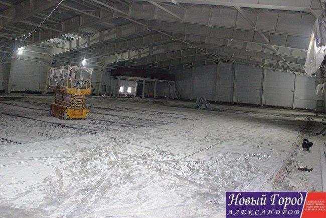 Ледовый дворец в Александрове