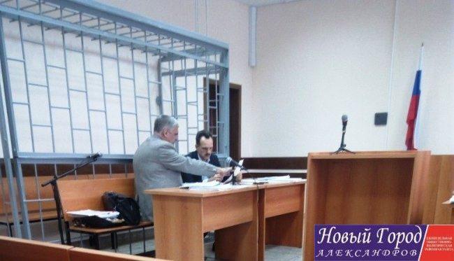 Андрей Володин в суде